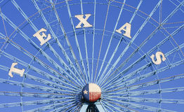 Колесо Ferris звезды Техаса, Даллас Техас Стоковая Фотография RF