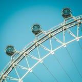 колесо ferris исполинское Стоковое Изображение