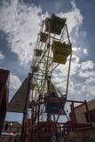 Колесо Ferris или большое колесо Стоковое Изображение