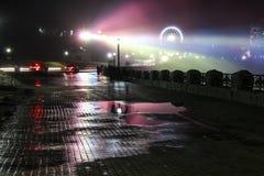 Колесо Ferris к падения Стоковое Изображение