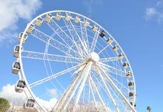 Колесо Ferris на †«Кейптауне портового района Виктории и Альберта, Южной Африке стоковая фотография rf