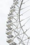 Колесо Ferris на белизне стоковая фотография rf