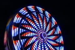 Колесо Ferris на ноче Стоковая Фотография RF