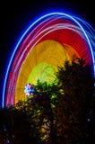 Колесо Ferris на ноче Стоковые Фотографии RF