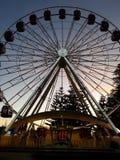 Колесо Ferris на ноче Стоковые Изображения RF
