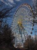 Колесо Ferris на парке Mtatsminda (Тбилиси, Georgia) Стоковая Фотография