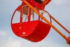 Колесо Ferris на порте Кобе стоковое изображение rf