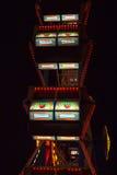 Колесо Ferris на Oktoberfest на ноче Стоковые Фотографии RF