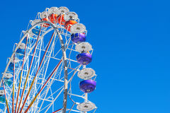Колесо Ferris на ` s Theresienwiese Мюнхена стоковые изображения