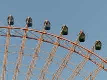 Колесо Ferris, Осака Стоковое Изображение RF