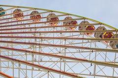 колесо ferris старое стоковые фотографии rf