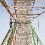 колесо ferris старое стоковые фото