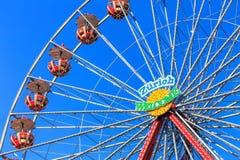 Колесо Ferris с Стоковое Изображение RF