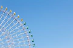 Колесо ferris ярмарки фестиваля спортивной площадки гигантское Стоковые Фото