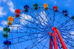 Колесо Ferris стоковое изображение rf