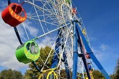 Колесо Ferris Carousel Стоковые Изображения