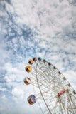 Колесо Ferris: Pescara, Италия Стоковое Изображение RF
