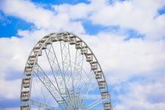 Колесо Ferris Roue de Париж на Ла de места Стоковое Изображение RF