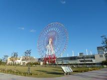 Колесо Ferrish на небе Стоковое Фото