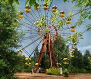 Колесо Pripyat Ferris/Чернобыль стоковое изображение rf