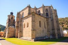 Коллигативная церковь Santa Maria, Вильяфранки del Bierzo Стоковое Изображение