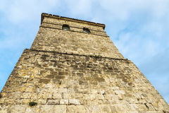 Коллигативная церковь Santillana Del Mar, Испании Стоковая Фотография