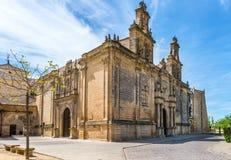Коллигативная церковь zares ¡ Санты MarÃa de los Reales Alcà Стоковое Фото