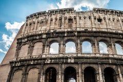 Колизей в Риме Стоковые Изображения
