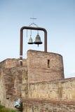 2 колокола в крепости Narikala Стоковое Изображение