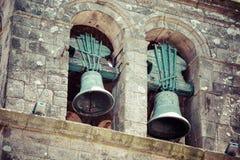 2 колокола в церков Стоковое Фото