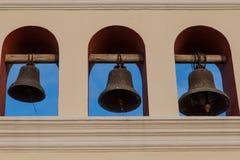 3 колокола от церков Стоковые Изображения