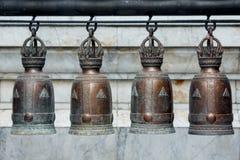 4 колокола Стоковая Фотография