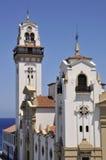 Колокол башни базилика Candelaria на Тенерифе стоковое изображение