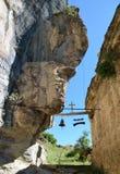 Колокол, гонг и крест Стоковая Фотография RF