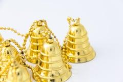 колокол золотистый Стоковое Изображение