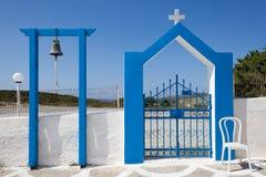 Колокол и строб церков Стоковая Фотография