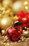 Колокол рождества Яблока Стоковое фото RF