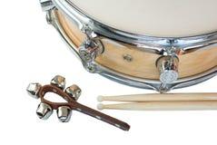 Колоколы барабанчика и звона Стоковое фото RF