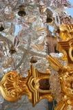 Колоколы вися от серебряных бумажных цветков Стоковые Фотографии RF