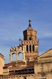 2 колокольни в Венеции Стоковая Фотография RF
