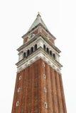 ` Колокольни ` колокольни Сан Marco на Венеции, Itlay Стоковое фото RF