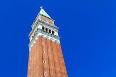Колокольня в Венеции Стоковые Фотографии RF