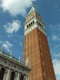 Колокольня в Венеции Стоковые Изображения