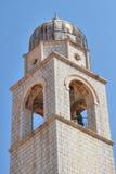 Колокольня, Дубровник Хорватия Стоковое Изображение RF