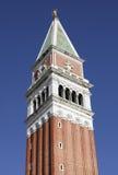 Колокольня колокольни в Венеции Стоковые Фотографии RF