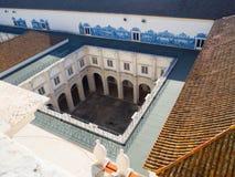 Колокольня монастыря St Винсента вне стен, Лиссабона, Португалии Стоковое Изображение RF