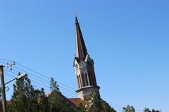 Колокольня римско-католической церков стоковые изображения rf