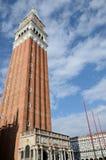 Колокольня Сан Marco, Venezia Стоковые Фотографии RF