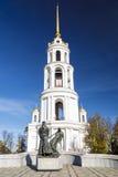 Колокольня собора воскресения в Shuya Комплекс i Стоковое фото RF