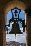 Колокольня собора в Caceres, Испании Стоковая Фотография